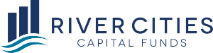 River Cities Capital Funds Logo - XLerateHealth Sponsor